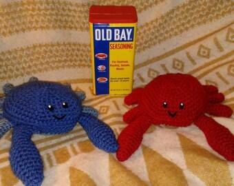 Maryland Blue Crab Plushie
