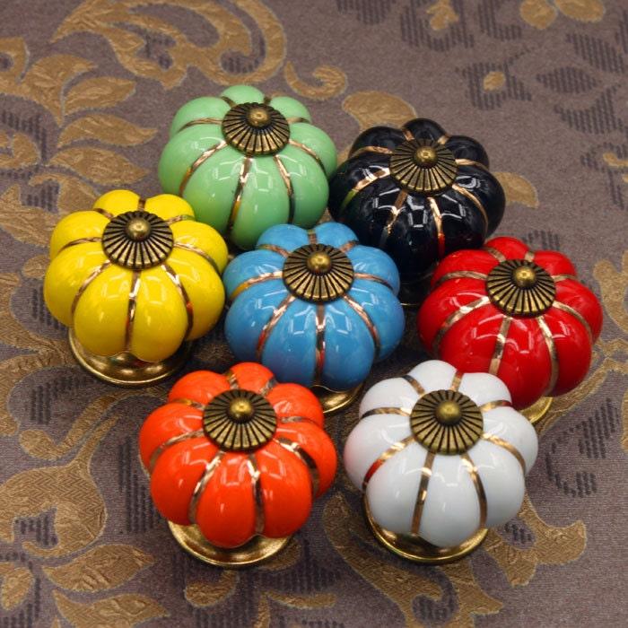 boutons de citrouille bouton tiroir de la commode tire etsy. Black Bedroom Furniture Sets. Home Design Ideas
