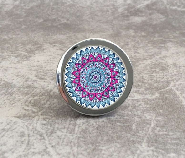 fleur bouton de meuble vintage tiroir boutons tire en. Black Bedroom Furniture Sets. Home Design Ideas