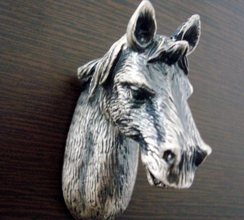 Horse Dresser Knobs Drawer Knobs Pulls Handles Antique Etsy
