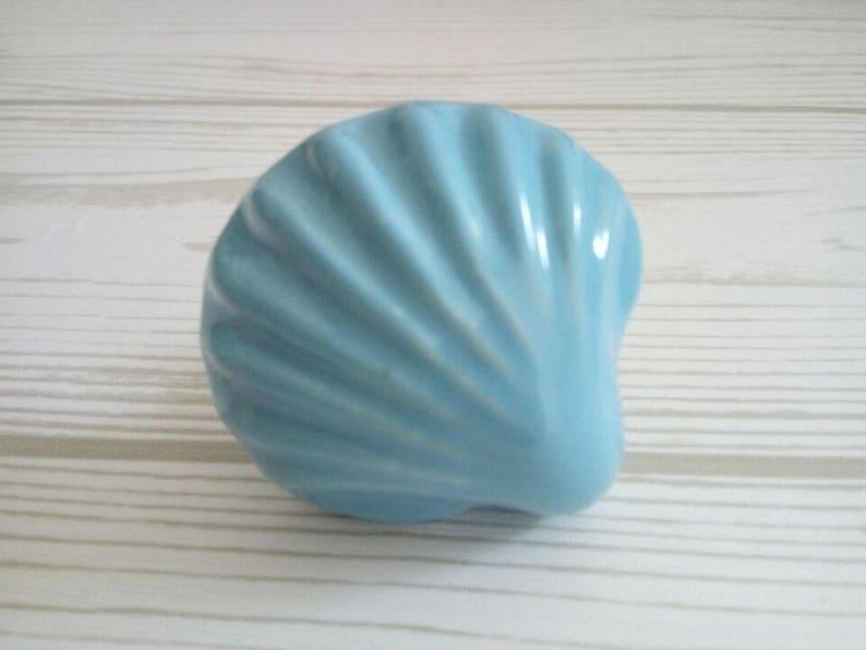 3.75\u201c Sea Beach Theme Shell Dresser Knobs Pulls Drawer Pulls Handles Knobs Blue Antique Silver Kitchen Cabinet Door Handle Pull Knob 96mm