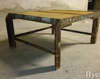Table Basse Bois   Etsy