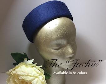 """1950's Vintage Inspired Pillbox Hat """"Jackie"""""""