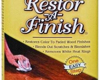 Howard Restor A Finish- 8 or 16 Oz.- Maple-Pine Neutral Golden Oak Walnut Cherry