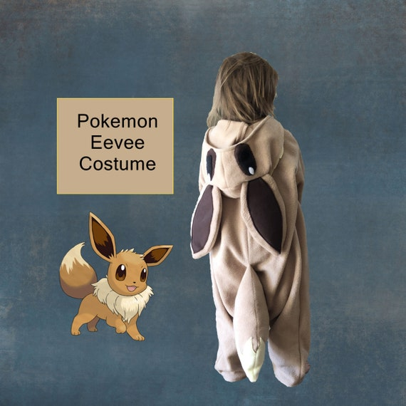 Pokemon Eevee Costume Custom Made Child Sized Etsy Thanks for always helping me with my art featuring #adorabat and #batgirl! pokemon eevee costume custom made child sized