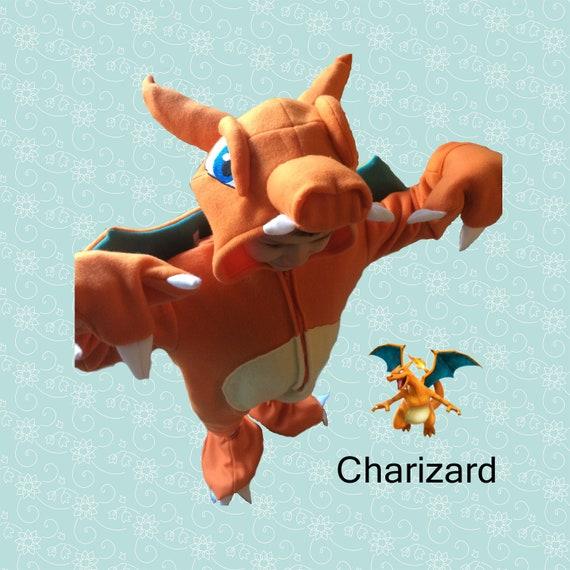 Pokemon Dracaufeu Costume Enfant