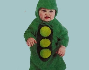 Pea Pod Costume Baby or Toddler