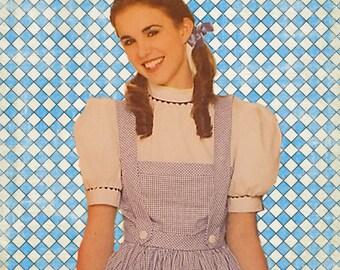 Miss Wizard of Oz Dorothy Dress Costume