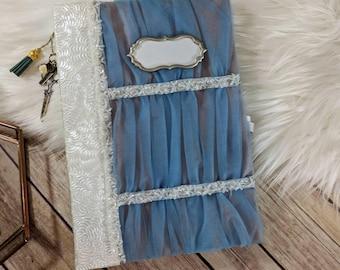 Cinderella Themed Wedding Guestbook Photo album Junk Journal Smash journal