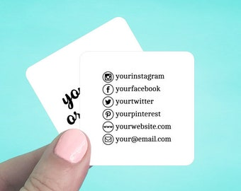 Business cards etsy popular items for business cards reheart Image collections