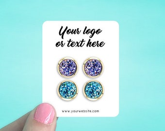 """90 Earring Cards 2x2.5"""" 