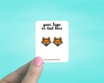 """85 Earring Cards 2 x 2.5"""" 