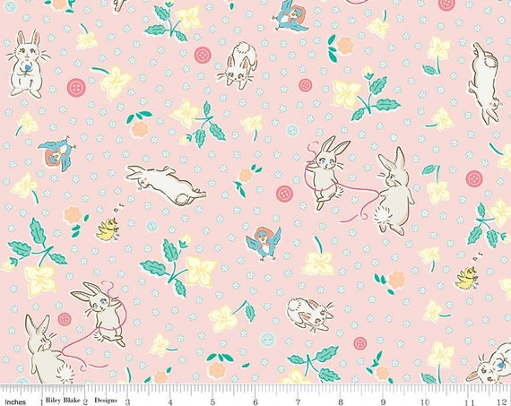 Pink Bunnies  from Penny Rose Fabrics
