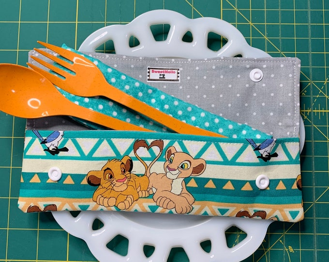 Lion King Cutlery Case