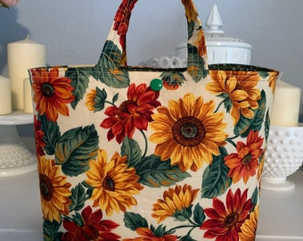 Sunflower  Ivy Bag