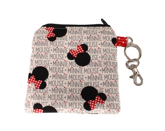 Minnie Mouse Mask Pouch