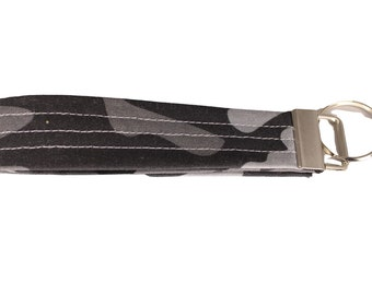Night Camo Fabric Keychain