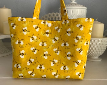 Yellow Bee Ivy Bag
