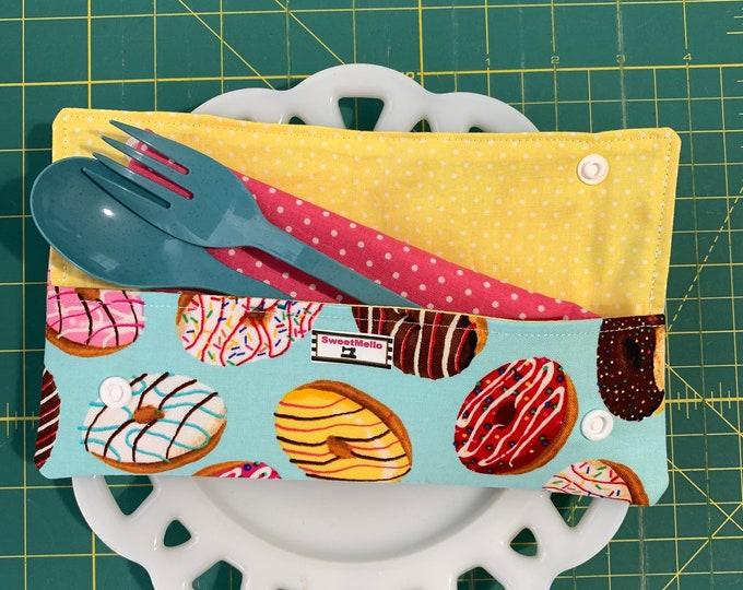 Donut Cutlery Case