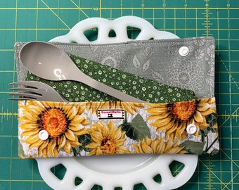 Sunflower Cutlery Case
