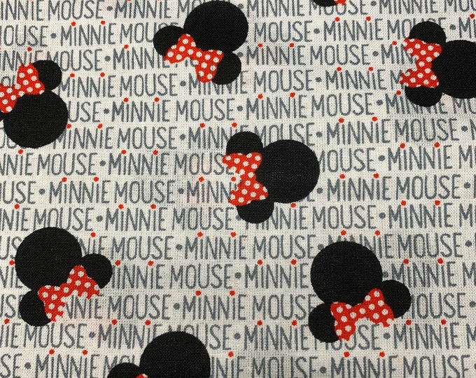 Face Mask Minnie Mouse