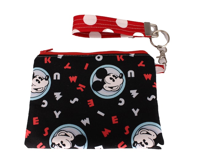 Mickey Mouse Carly Wristlet