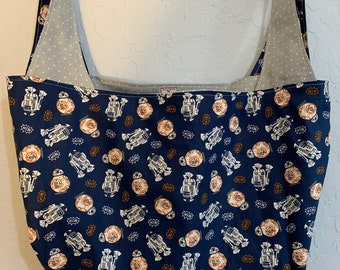 Reversible Star Wars Market Bag Blue