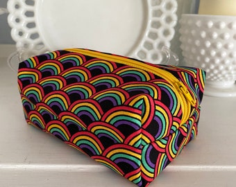 Rainbow Cosmetic Case