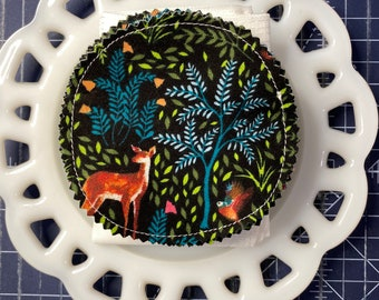 Reusable Cotton Rounds Forest Animals