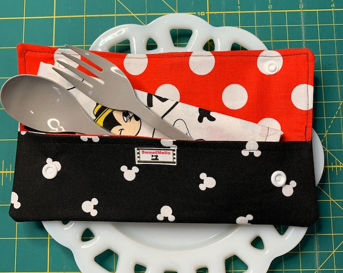 Mickey Mouse Cutlery Case
