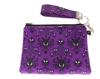 Haunted Mansion Carly Wristlet