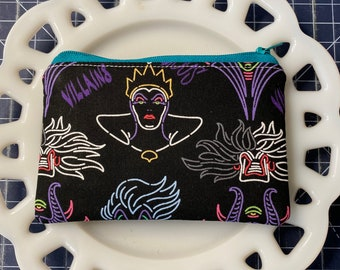 Disney Villains Coin Purse
