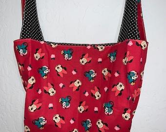 Reversible Minnie Mouse Market Bag Bag