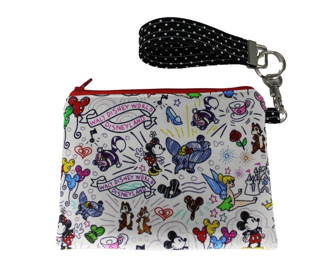 Dooney Inspired Carly Wristlet