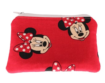 Red Mickey Mouse Coin Purse