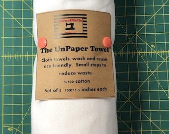 Reusable Unpaper Towel White