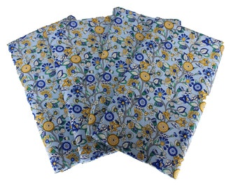 Liberty Garden Blue Cloth Napkin