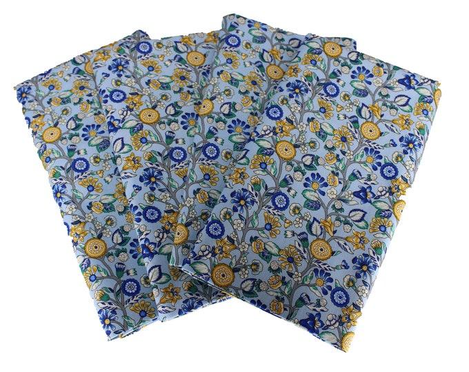 Liberty Garden Blue Cloth Napkin