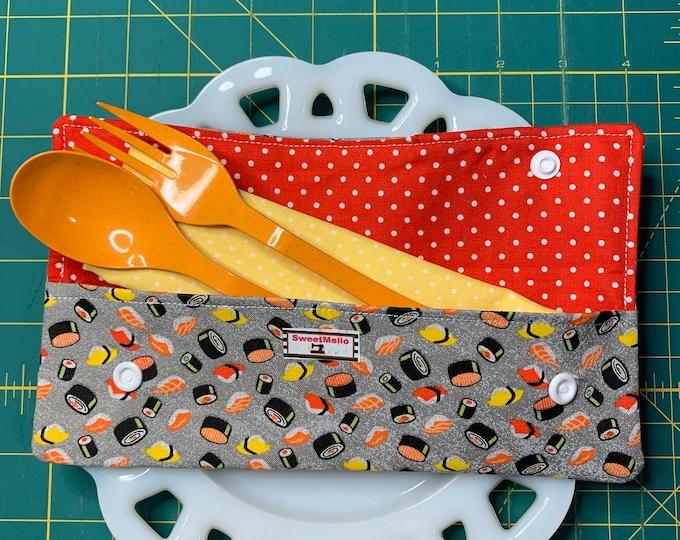Sushi Cutlery Case