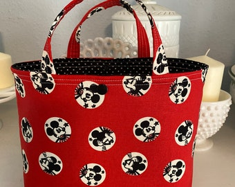 Red Mickey Mouse Ivy Bag