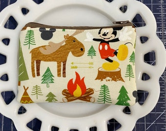 Campfire Mickey Coin Purse