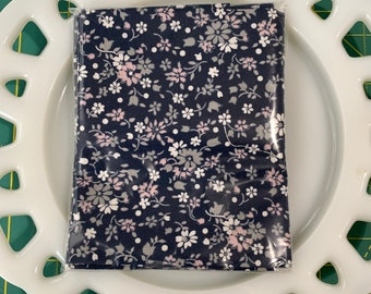 Petite Navy Lunch Box Napkin