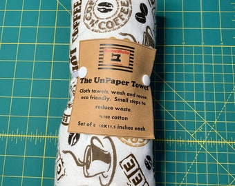 Reusable Unpaper Towel Coffee