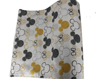 Reusable Unpaper Towel Golden Mickey Mouse