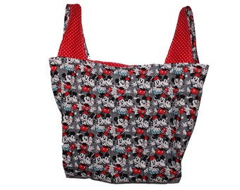 Mickey and Minnie Market Bag