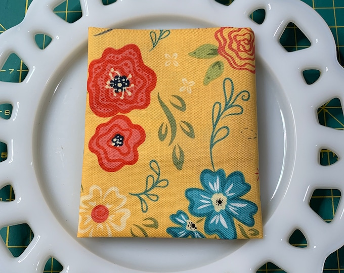 Yellow Floral Lunch Box Napkin