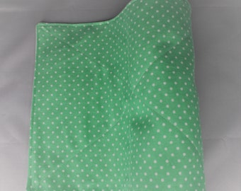 Reusable Unpaper Towel Mint Polka Dot