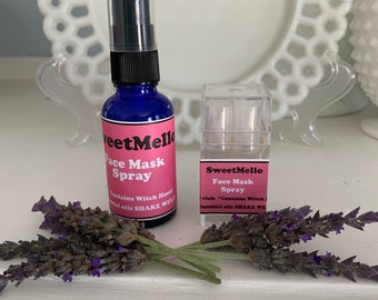 Essential Oil Face Mask Spray