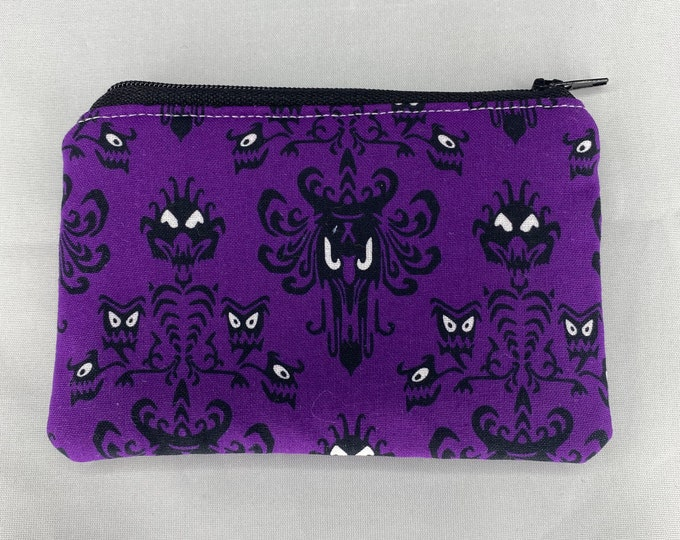 Haunted Mansion Coin Purse