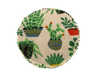 Reusable Cotton Rounds Succulent